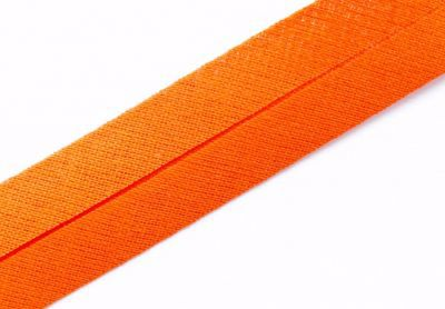 Schrägband, 20mm - 343 orange